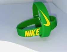 Nike Baller Band Silicone Rubber Bracelet Green Yellow Elite Series AF1