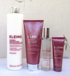 Elemis Modern English Rose Bath & Shower Milk/Body Cream/Hand & Nail Cream/Mist