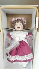 "WORLD GALLERY DOLLCOLLECTIBLES 1993 ANNIE 22""PORCELAINBYVICENT J DEFILIPPO"