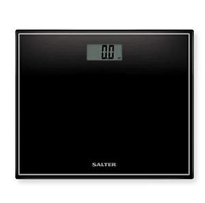 Salter Bilancia Pesapersone Digitale In Vetro Temperato Display Lcd 180 Kg Nero