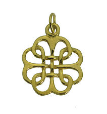 Remember honor Vetrans Live on Infinity knot Poppy charm military Gold Plated