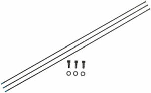 """SRAM Straight Pull Spokes and Nipples - 292mm Black 3-pack for 29"""" Roam Carbon W"""