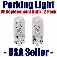 Parking Light Bulb 2-pack OE Replacement Fits Listed Toyota Vehicles - 194