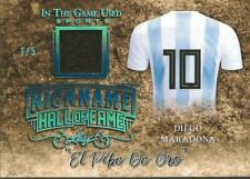 Diego Maradona 2019 Leaf In the Game Prime Jersey Nickname /5 Argentina