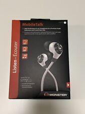 Monster NCredible In-Ear Headphones, Frost White