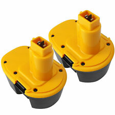 2 Pack 3.0AH Ni-Cd Battery For Dewalt 14.4V Volt DC9091 Cordless Drill Extended