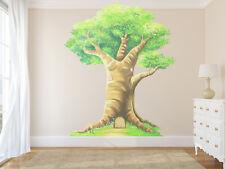 woodland tree wall sticker, fairy tree wall sticker