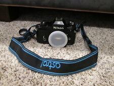 Nikon EM Camera Body w/ Cap - Works