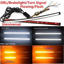 2X Car SUV Daytime Light Bar Switchback LED Strip Flowing Turn Signal Indicator