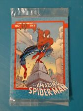 The Amazing Spider-Man 30th Anniversary 1992 2 Packs 5 Promo Cards Impel Sealed