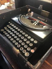 RefurVintage Remington MONARCH 5 Manual Typewriter-WOW PERFECT WORKING CONDITION