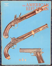Magazine American Rifleman, FEBRUARY 1971 !! BROWNING BLR Lever-Action RIFLE !!