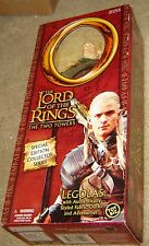 ToyBiz Lord Of The Rings The Two Towers Legolas Large Doll Action Figure, NRFB
