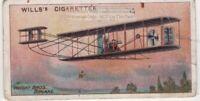 1903 Wright Brothers  First Aeroplane Flight Kitty Hawk 100+ Y/O  Trade Ad Card