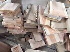 Bastelholz, Modellbau, Werkholz, Holzabschnitte, Lärche Eiche gemischt, 10 Stk.