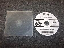 Kubota MX4800 MX5200 MX5800 Tractor Workshop Shop Service Repair Manual DVD
