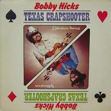 Bobby Hicks(Vinyl LP)Texas Crapshooter-Country-772-US-Ex/Ex