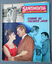 ► PHOTO ROMANS - SENTIMENTAL 12/1963 - BARBARA NARDI - LEA MONACO - MARA CARISI