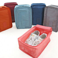 Shoes Boxes Storage Bag Pouch For Travel Portable Shoe Organizers Sorting Case