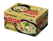 New listing Nongshim Pre-Cooked Udon Savory Soy Premium Noodle Soup Bowl, 9.73oz X 6 Count