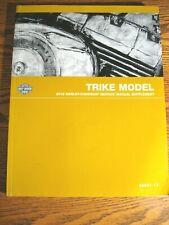 2012 Harley Davidson Trike Flhtcutg Tri Glide Repair Service Manual Suppl (Fits: Harley-Davidson)