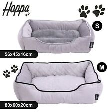 Hoppa Pet Bed Basket Dog Bed Cat Bed Comfy Petbed Washable Non Slip Ultra Soft