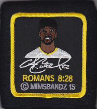 ANDREW McCUTCHEN NON GAME USED MIMS PICTURE FACE WRISTBAND PITTSBURGH PIRATES