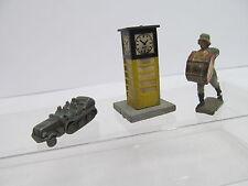 MES-453073 Teile altes Spielzeug,H:beleuchtete Uhr ca.45mm,