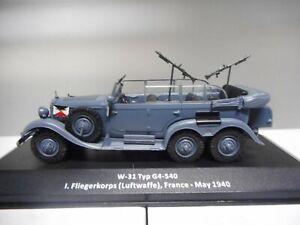 MERCEDES W-31 TYP G4-540 1940 GERMANY WW II ALTAYA IXO 1:43