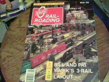 Scale O Railroading run 136 Bill and Pat Wasik's 3-Rail Layout, O Gauge in a sma
