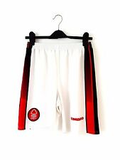 "Nottingham Forest Home Shorts 1997. 32"". Umbro White Adults Football Shorts Only"