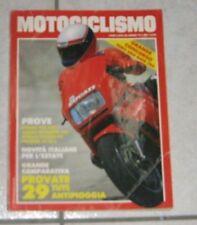 RIVISTA MOTOCICLISMO MOTO D'EPOCA VFR INTRUDER TUAREG