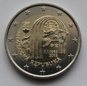 SLOVAKIA - 2 € commemorative euro coin 2018 - Slovak Republic 25 UNC coin