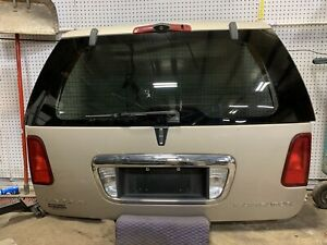 2003-2006 LINCOLN NAVIGATOR TRUNK /HATCH/TAIL GATE /WIPER TINT GLASS CAMERA