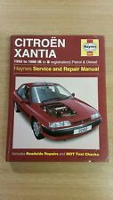 CITROEN XANTIA 1993-1998 K-S REG HAYNES WORKSHOP MANUAL 3082 USED COND FREE P&P