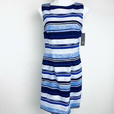 AGB Striped Multicolor Women Dress. Size 10. New With Tags