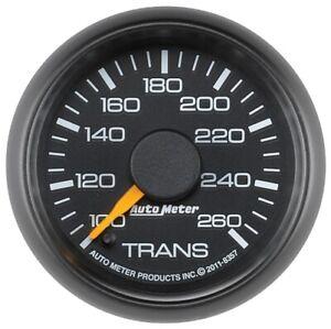 "Auto Meter 8357 2-1/16"" Elec Trans Temp Gauge 100-260 °F For GM NEW"