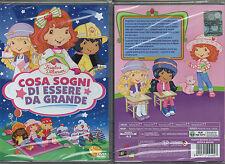 FRAGOLINA DOLCECUORE - COSA SOGNI DI ESSERE DA GRANDE - DVD (NUOVO SIGILLATO)
