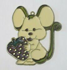 Cute Mouse With Strawberry Suncatcher (Suncatchers)