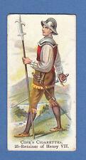 MILITARY - COPE BROS. - RARE MILITARY CARD - BRITISH WARRIOR NO. 25  - 1912