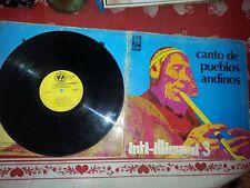 LP 33 GIRI INTI ILLIMANI 3 CANTO DE PUEBLOS ANDINOS 1975