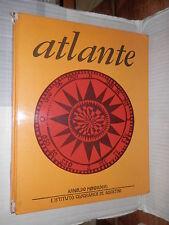 ATLANTE Mondadori 1967 libro manuale corso scuola geografia cartine mappe di