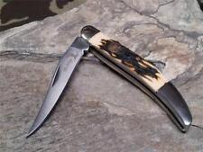 Elk Ridge Gentlemans Toothpick Folding Pocket Knife w/ Bone Handle 110I