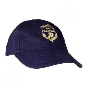 Casquette brodée Troupes de Marine TDM / Armée Française - Taille unique