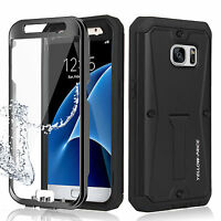Cool Black 360° Full Protection Armor Tank Case For Samsung Galaxy Note 4 Note 5