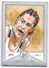 2019 Topps UFC Museum Collection CRIS CYBORG 1/1 Sketch Card AP Ted Dastick Jr