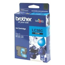Brother Genuine LC38C Cyan Ink Cartridge