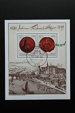 Timbre ALLEMAGNE RDA - Stamp Germany Yvert et Tellier Bloc n°63 obl (Y1)