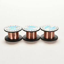 2 Pcs 0.1MM Copper Soldering Solder PPA Enamelled Repair Reel Wire Ws