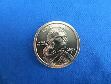 One 2005-P Native American Dollars Sacagawea  Clad Satin Finish Uncirculated BU
